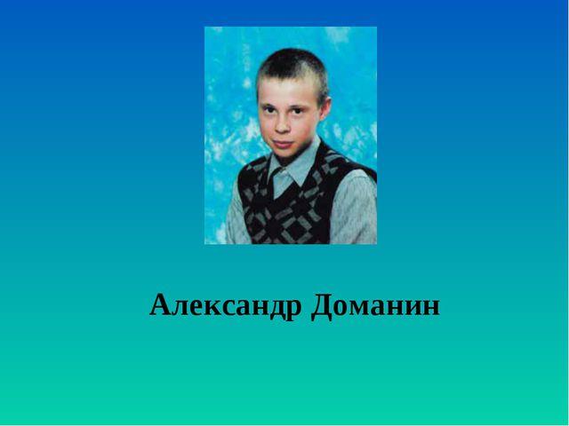 Александр Доманин