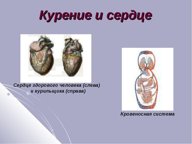 Курение и сердце