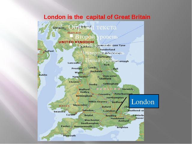 London is the capital of Great Britain London