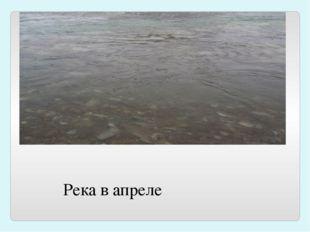 Река в апреле
