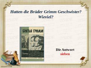 Was studierten Brűder Grimm an der Philipps-Universität in Marburg ? Die Antw