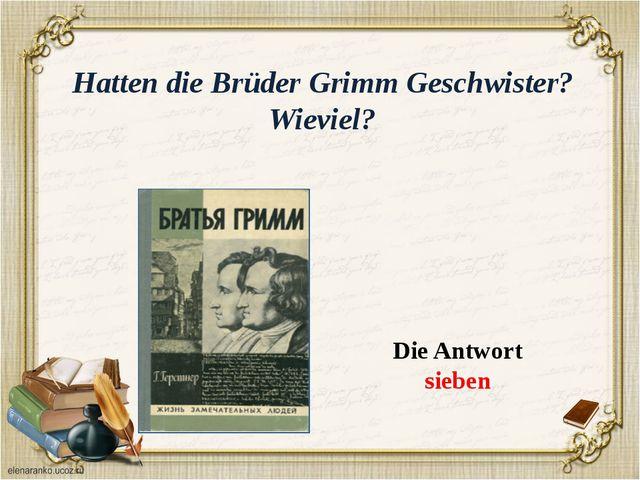 Was studierten Brűder Grimm an der Philipps-Universität in Marburg ? Die Antw...