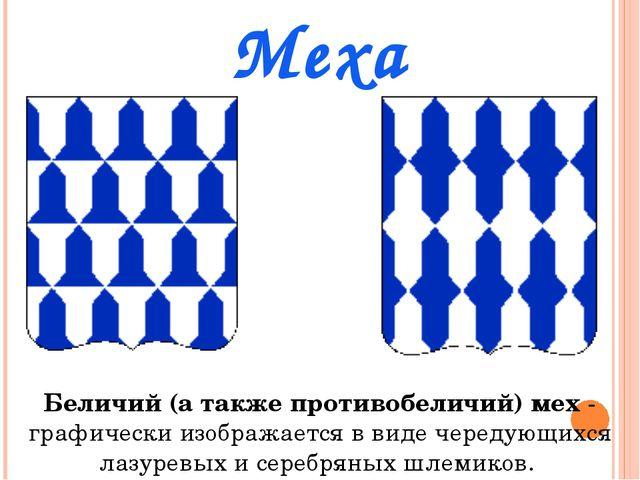 Меха Беличий (а также противобеличий) мех- графически изображается в виде че...