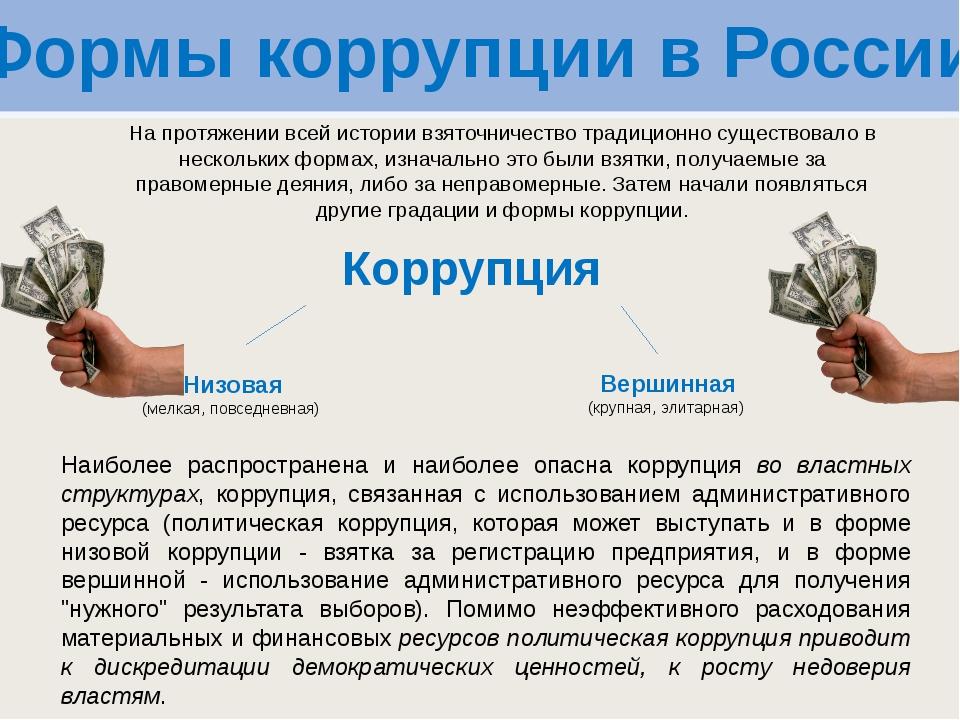 коррупция в коммерческих организациях находите