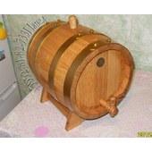 Бочка из дуба 10л для городской кухни - свой виски за 2мес!