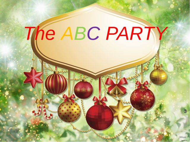 The ABC PARTY 3
