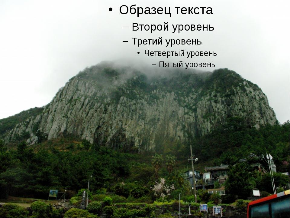 Горы Сораксан.