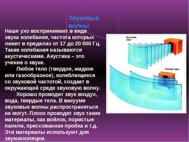 Скорость звука Звуковые волны распространяются с конечной скоростью. Свет рас...