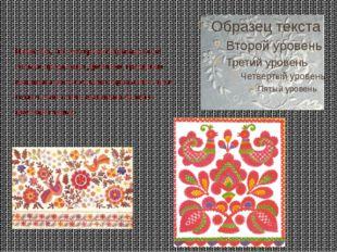 Известно, что мстерский промысел не только продолжил древнюю традицию вышивки