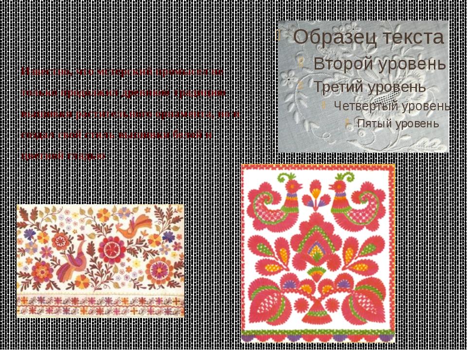Известно, что мстерский промысел не только продолжил древнюю традицию вышивки...