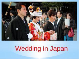 Wedding in Japan