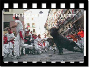 the festival of San Fermin