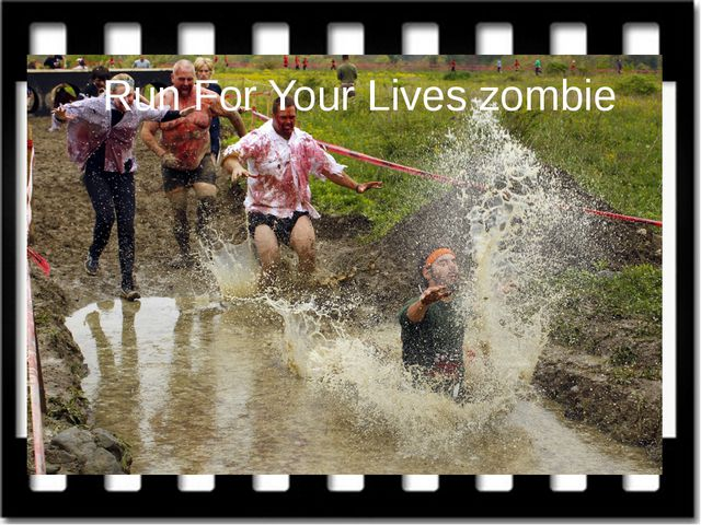 Run For Your Lives zombie