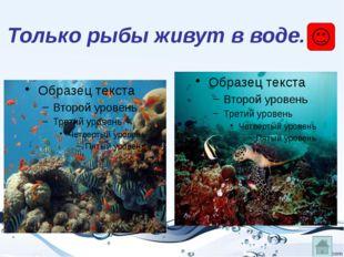 Только у рыб незаметная окраска.