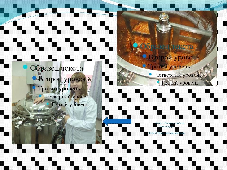 Фото 2. Реактор в работе (вид сверху) Фото 3. Внешний вид реактора