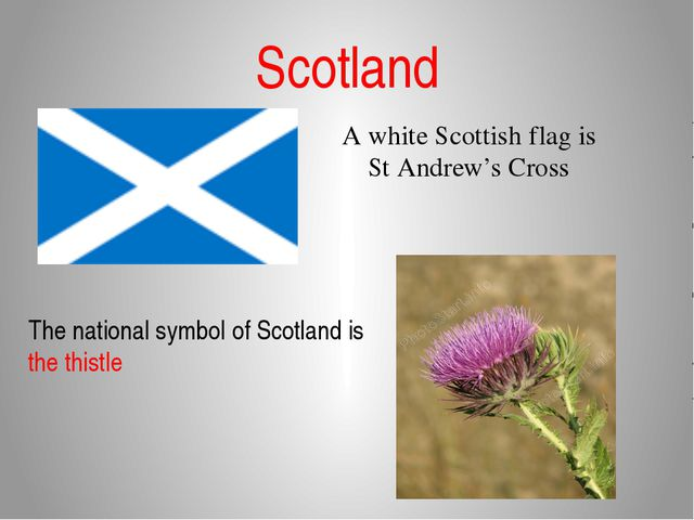 Scotland A white Scottish flag is St Andrew's Cross The national symbol of Sc...