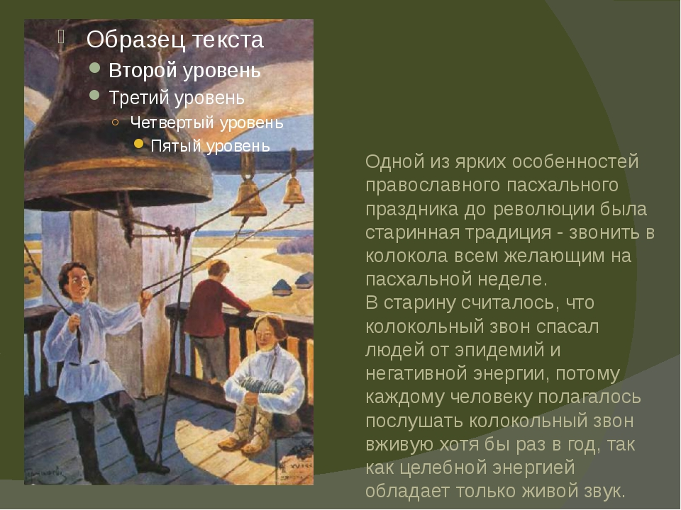 Одной из ярких особенностей православного пасхального праздника до революции...