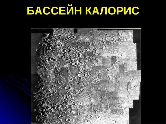 БАССЕЙН КАЛОРИС
