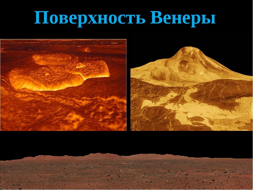 Поверхность Венеры