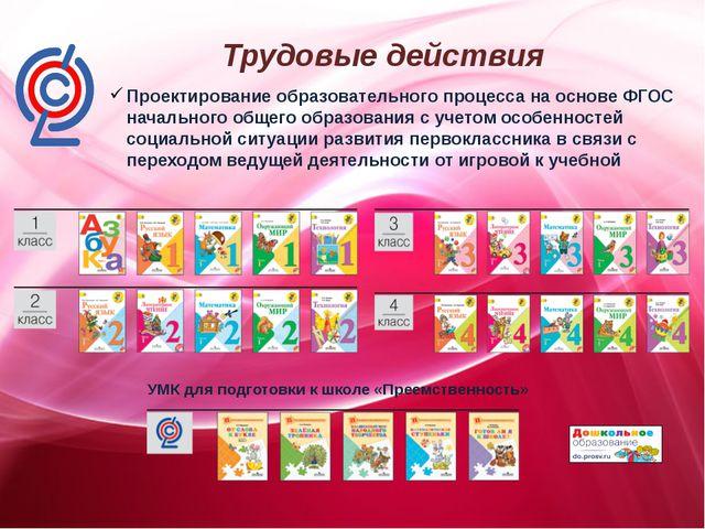 Проектирование образовательного процесса на основе ФГОС начального общего об...