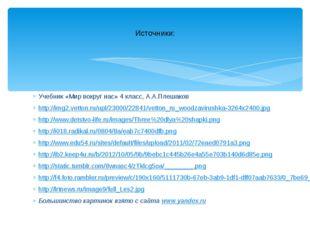 Учебник «Мир вокруг нас» 4 класс, А.А.Плешаков http://img2.vetton.ru/upl/2300