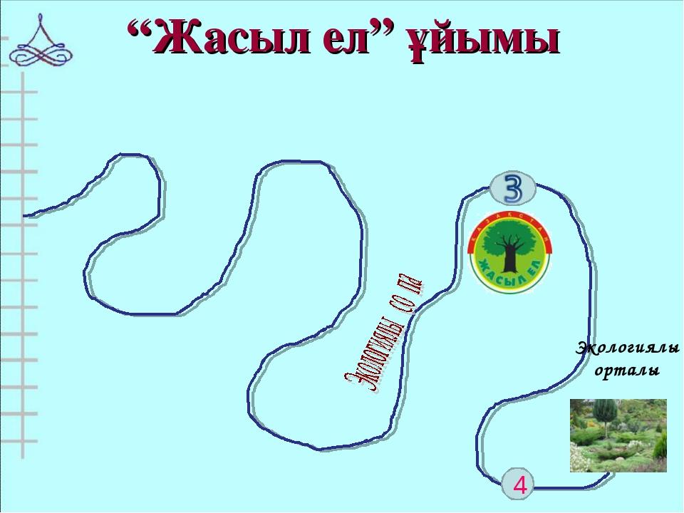 """4 """"Жасыл ел"""" ұйымы Экологиялық орталық"""