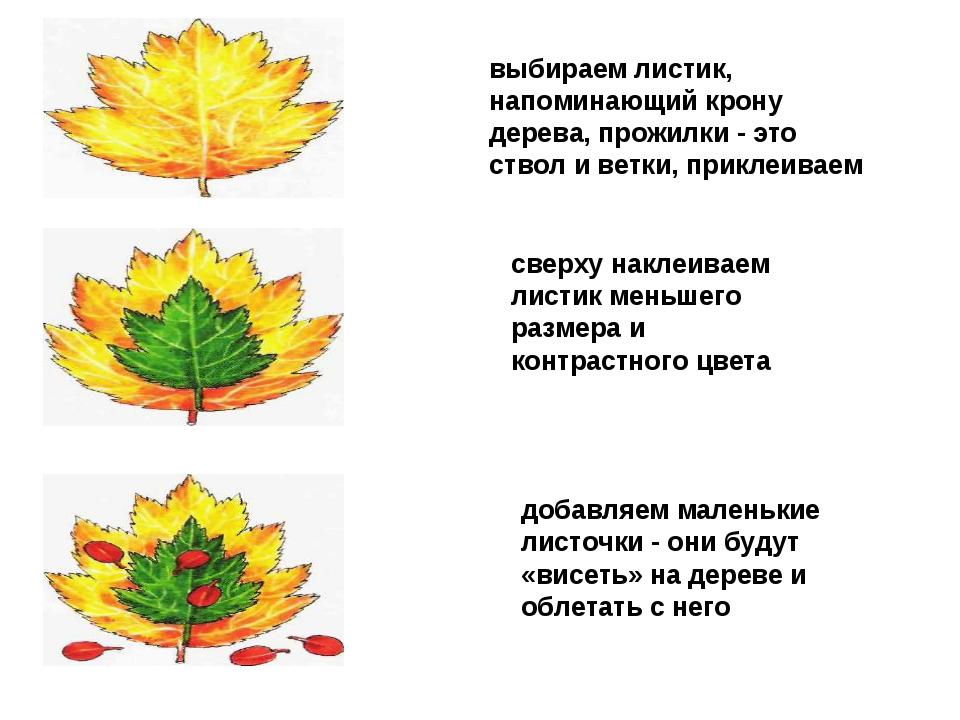 выбираем листик, напоминающий крону дерева, прожилки - это ствол и ветки, при...