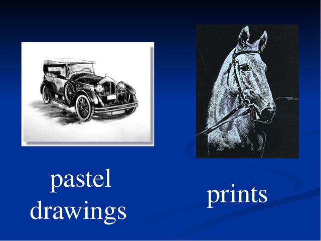 pastel drawings prints