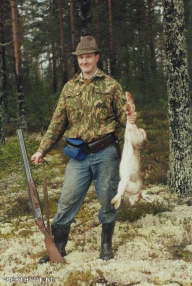 новое видео охота на зайца