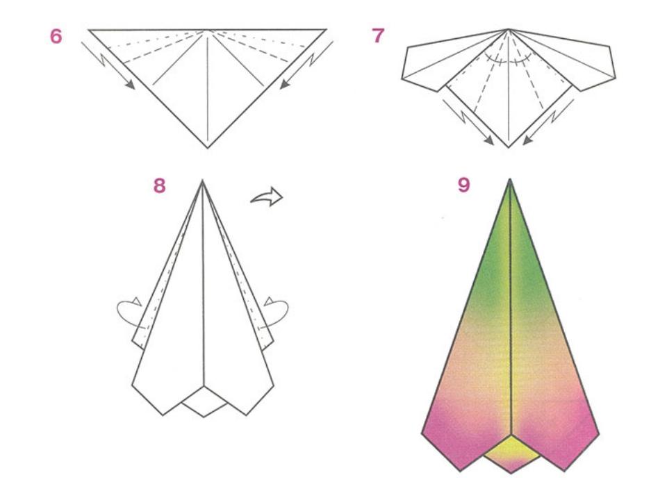 Как из бумаги сделать подснежник