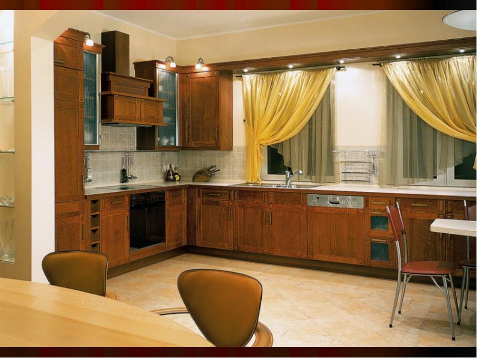 Дизайн кухни п44т с эркером фото: интерьер с воздуховодом ...