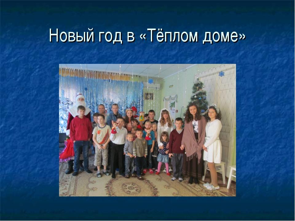 Новый год в «Тёплом доме»