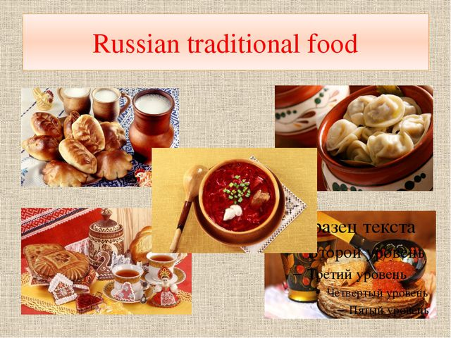 Russian traditional food