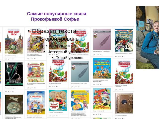 Самые популярные книги Прокофьевой Софьи