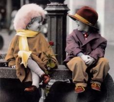 Романтические фотографии с детьми от Kim Anderson (71 Фото)