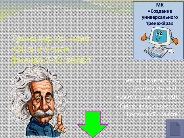 Автор формулы Лоренц Ампер Архимед Ньютон Очень жаль… Верно!