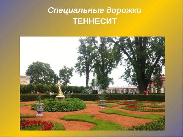 Специальные дорожки ТЕННЕСИТ