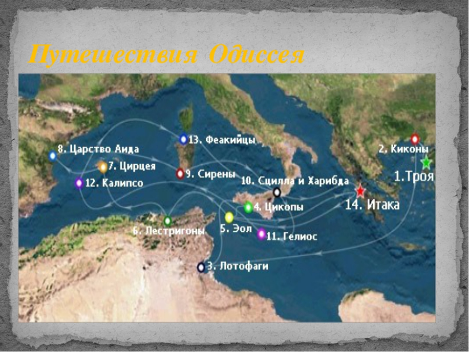 Путешествия Одиссея