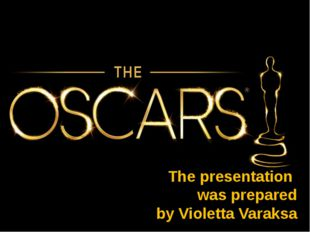 The presentation was prepared by Violetta Varaksa