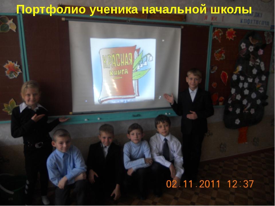 Портфолио ученика начальной школы Портфолио ученика начальной школы
