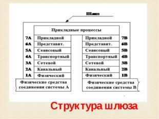 Структура шлюза