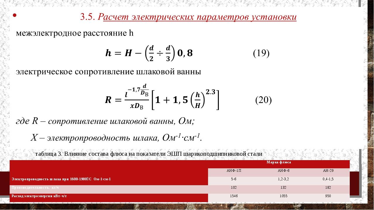 ё таблица 3. Влияние состава флюса на показатели ЭШП шарикоподшипниковой стал...