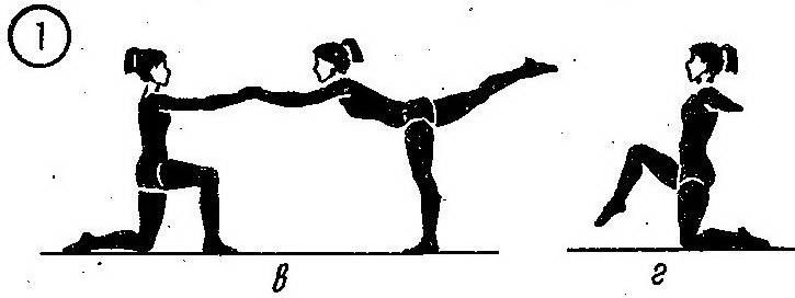 Обучение равновесием, основной комплекс упражнений