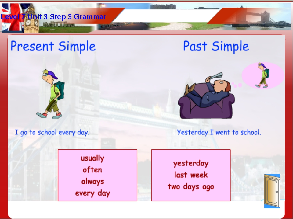 Level 7 Unit 3 Step 3 Grammar