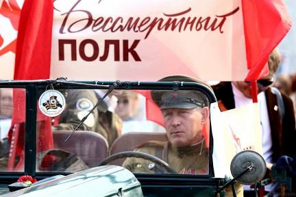По центру Новосибирска прошел