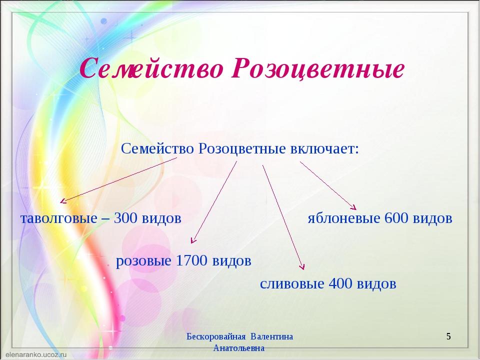Семейство Розоцветные Семейство Розоцветные включает: таволговые – 300 видов...