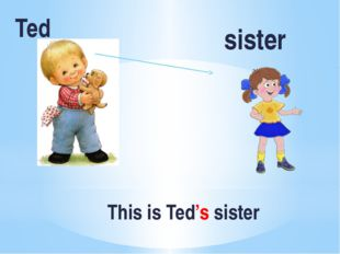 This is Ted's sister Ted sister