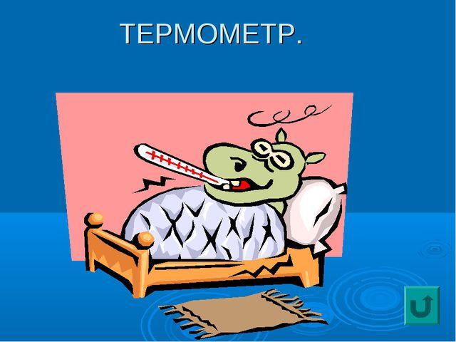 ТЕРМОМЕТР.