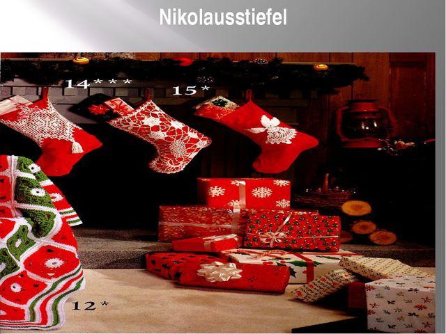 Nikolausstiefel