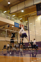 Упражнения для развития специальной гибкости волейболистов